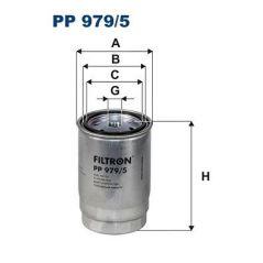 PP979/5 FILTRON  Filtr paliwa