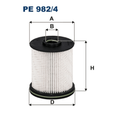 PE982/4 Filtron Filtr Paliwa