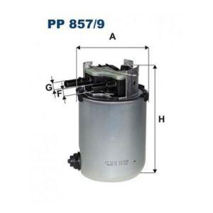 PP857/9 Filtr paliwa Filtron