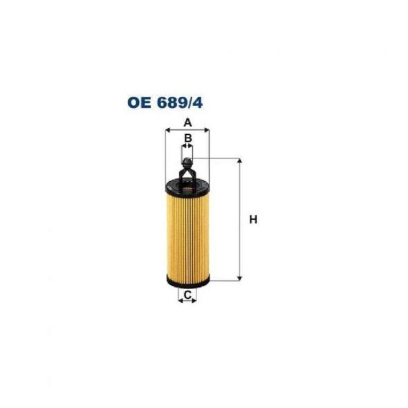 OE 689/4 Filtr oleju Filtron